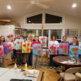 Tulip painting group