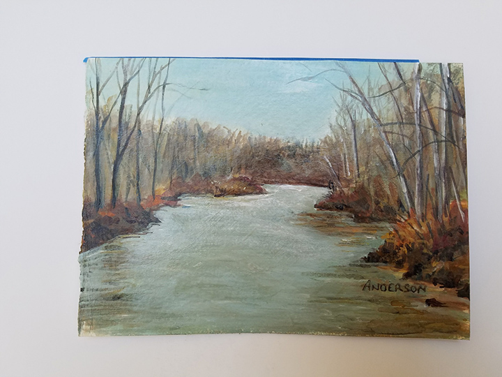 Sketch of As the River Flows